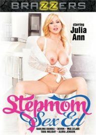 Stepmom Sex Ed DVD porn movie from Brazzers.