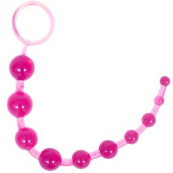 Sassy 10 Anal Beads - Pink Sex Toy