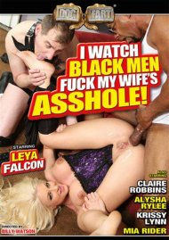 I Watch Black Men Fuck My Wife's Asshole! DVD Image from Blacks on Blondes.