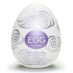 Tenga Easy Beat Egg - Cloudy Sex Toy