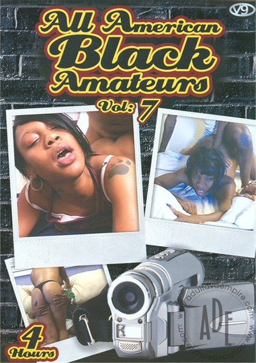 All American Black Amateurs Vol. 7 Gonzo V9 Video Home Made Movies