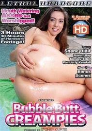 Bubble Butt Creampies DVD Image from Lethal Hardcore.