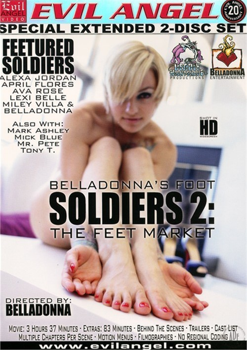 Belladonna's Foot Soldiers 2: The Feet Market- On Sale! Fetish Ava Rose Tony T.