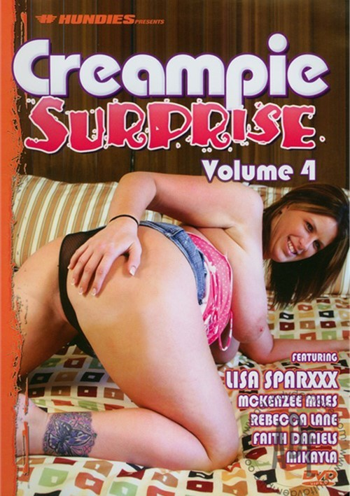 Creampie surprise dvd pornstar