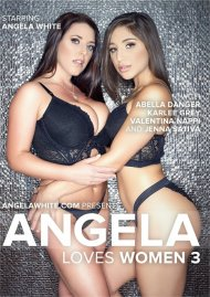 Angela Loves Women 3 DVD porn movie from AGW Entertainment.