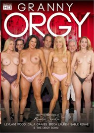 Granny Orgy porn video from Rookie Nookie Productions.