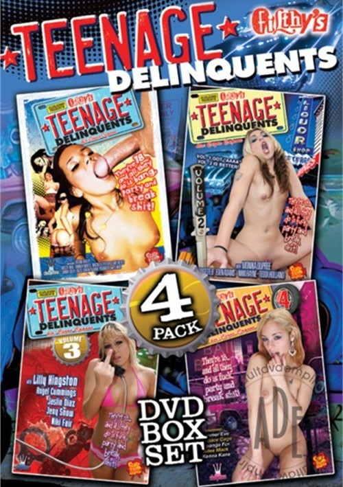 Teenage Delinquents 4 Pack