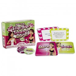 Flip & Sip Truth or Dare Card Game Sex Toy