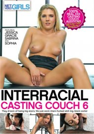 Interracial Casting Couch 6 HD porn video from Net Video Girls.