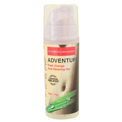 Intimate Organics: Adventure - Fresh Orange Anal Relaxing Gel - 1 oz.  Sex Toy