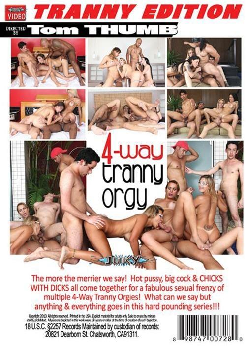 4 Way Smoke Orgy