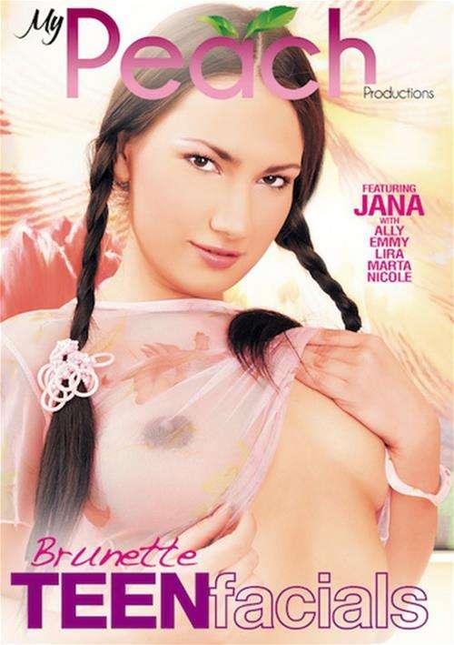 Brunette Teen Facials Jana (III) Brunettes 18+ Teens