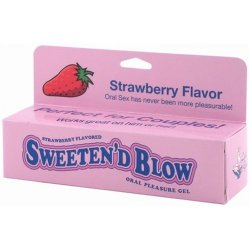 Sweeten D Blow - Strawberry - 1.5 oz. Sex Toy