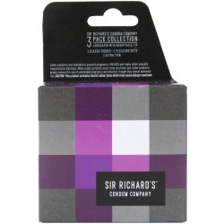Sir Richard's Condoms - Collection Pack - 3 pk Sex Toy