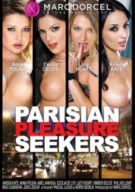Parisian Pleasure Seekers DVD Image from Marc Dorcel.