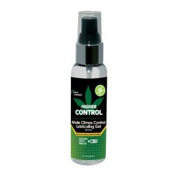 Higher Control Male Climax Gel With Hemp - 2oz.