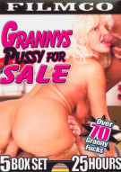 Grannys Pussy For Sale 5-Disc Set Porn Movie