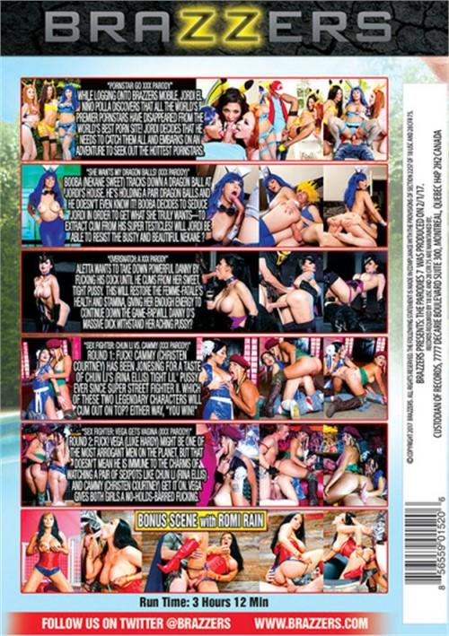 Brazzers Presents: The Parodies 7 Pornstar Go XXX Movie