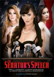 The Senator's Speech DVD Image from Girlsway.