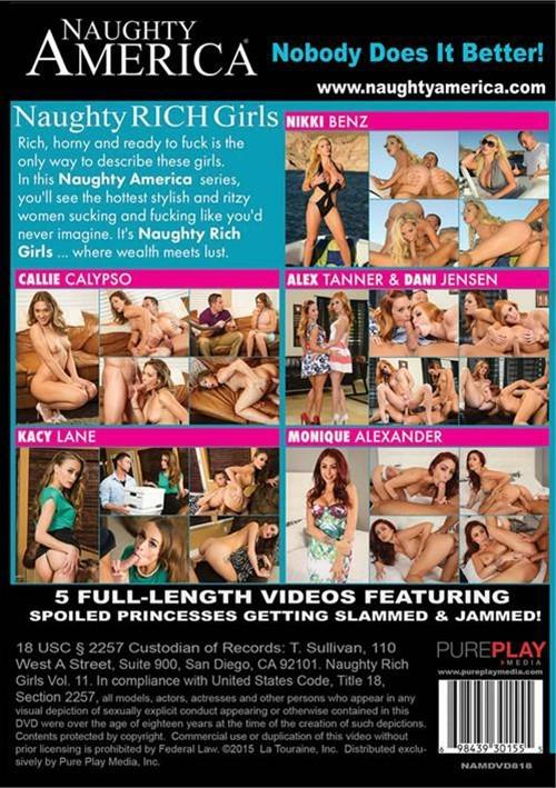 Naughty Rich Girls Vol. 11 Naughty America Porno
