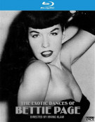 Exotic Dances Of Bettie Page, The Blu-ray