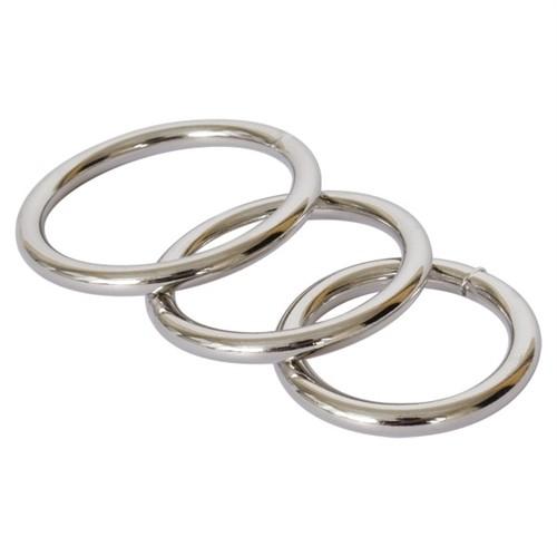 Metal Cock Ring 3-Pack Image