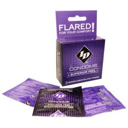 ID Superior Feel Condom - 3 pk Sex Toy