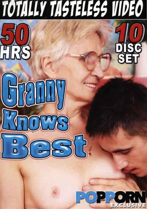 Granny Knows Best (10 disc set) Compilation Boxed Sets Totally Tasteless