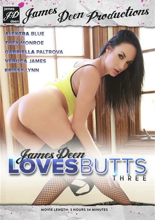 James Deen Loves Butts Part Three DVD Porn Movie Image
