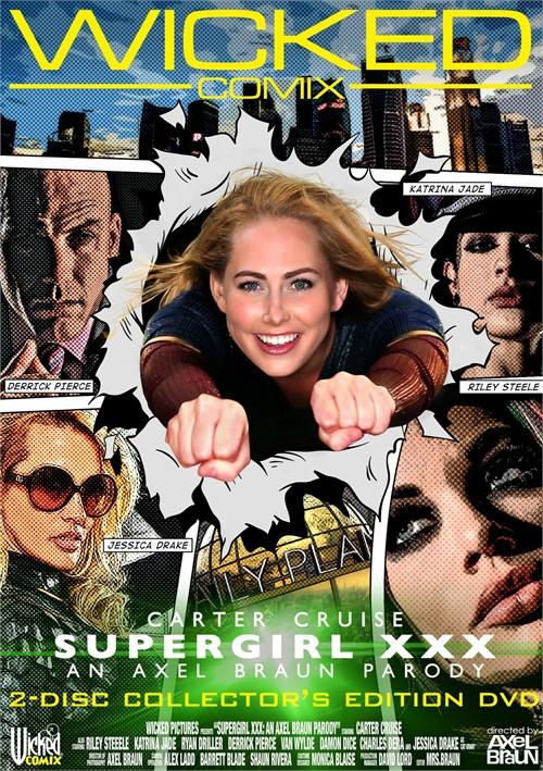 Carter Cruise stars in Supergirl XXX: An Axel Braun Parody DVD porn movie.
