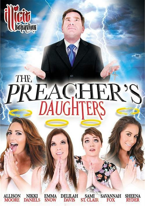 The Preacher's Daughters DVD Porn Movie Image.
