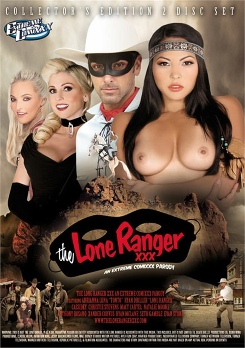 Lone Ranger XXX, The: An Extreme Comixxx Parody Seth Gamble Jordan Septo Cassidey