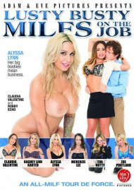 Lusty Busty MILFs On The Job Porn Video