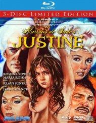 Marquis de Sade's Justine (Blu-ray + DVD Combo) Blu-ray Image from WEA.