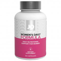 JO Women's Daily Formula Dietary Supplement - 60 Capsules Sex Toy