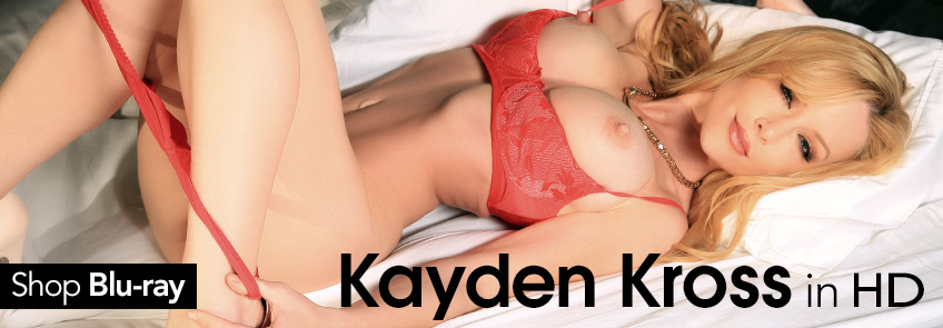 Buy Kayden Kross Blu-ray porn movies.
