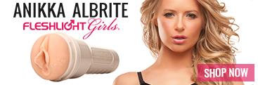 Buy the Anikka Albrite Fleshlight pornstar stroker sex toy.