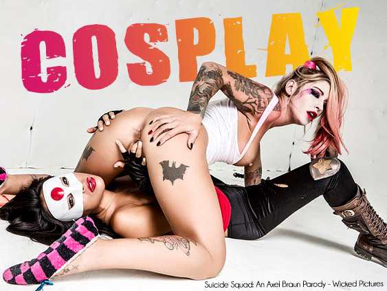 Browse Cosplay porn movies starring Kleio Valentien and more.