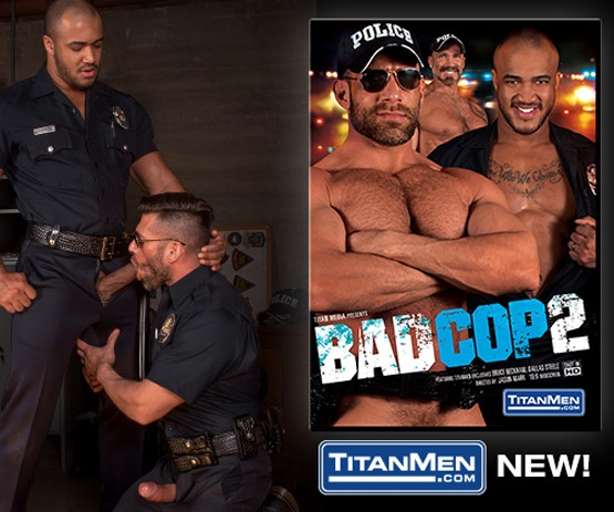 Stream Bad Cop 2 gay porn video.