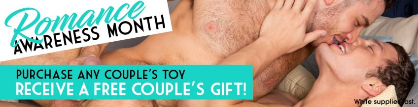 Romance Awareness Month! Purchase any couples sex toy get a free couples gift!