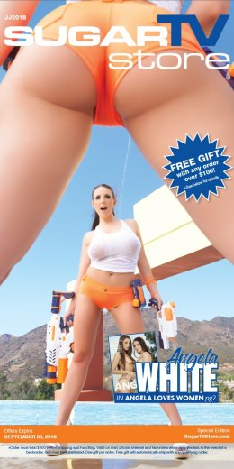 Shop the SugarTV Catalog with cover girl Angela White.