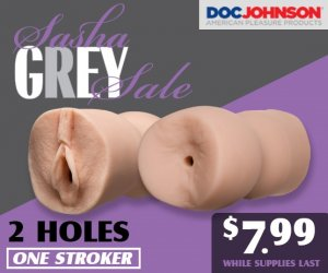 Buy the Sasha Grey stroker sex toy on sale.