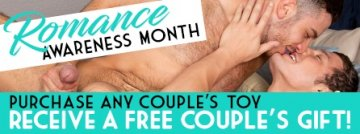 Romance Awareness Month! Purchase any couples sex toy get a free couples gift! - Browse now!.