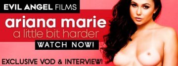 Exclusive VOD! Ariana Marie: A little bit harder! Stream Now!