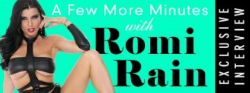 A few more minutes with Romi Rain exclusive Adult Empire interview - Watch Now!