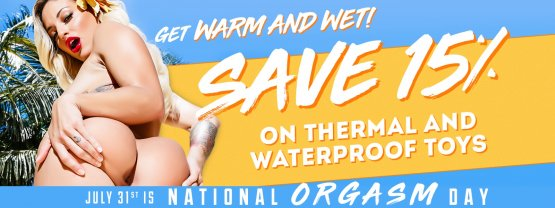 Browse our Thermal & Waterproof sex toy sale.