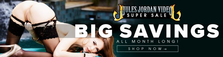 Shop now and save on select Jules Jordan porn DVDs.