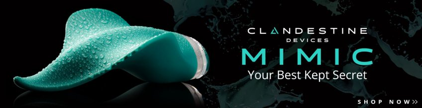 Browse Mimic Vibrators from Clandestine Devices.