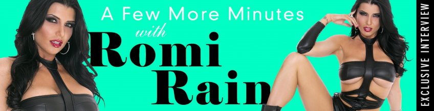 Watch our exclusive interview 'A few more minutes with Romi Rain- Watch now!.