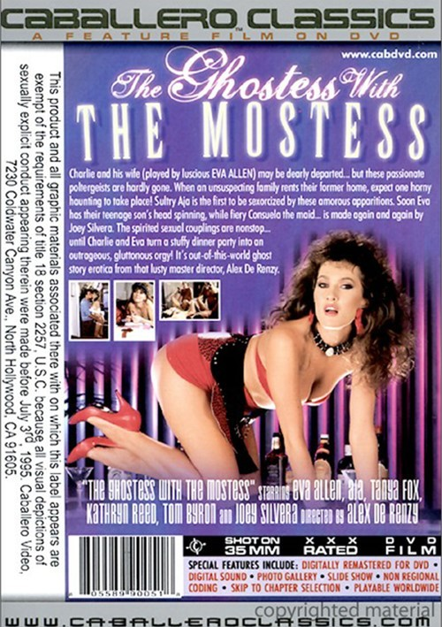 Back cover of Ghostess With The Mostess